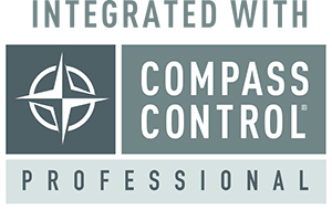 Integrated with CompassControlPro logo3