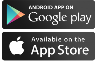 Apple Store, Google Play store