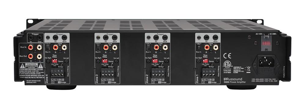 Russound D850 Eight Channel Digital Amplifier